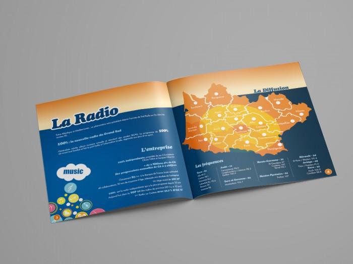 A4 Landscape Brochure Mockup - DOUBLE2