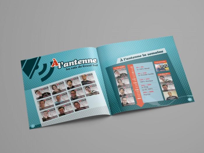 A4 Landscape Brochure Mockup - DOUBLE4