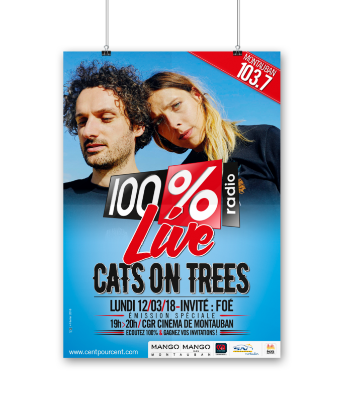 A0 PSD Poster Mockup-CATS