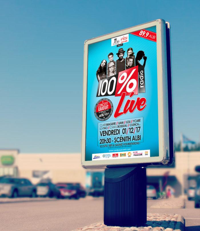 billboard-LIGHT-LIVE ALBI